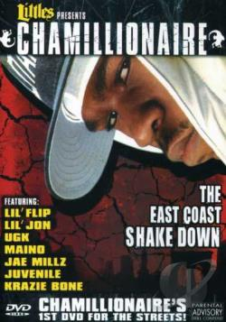 Chamillionaire - The East Coast Shakedown DVD Cover Art
