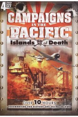 Campaigns in the Pacific: Islands of Death DVD Cover Art