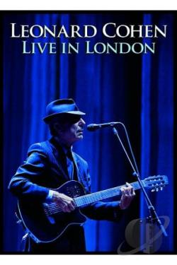 Leonard Cohen - Live In London DVD Cover Art