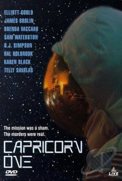 Capricorn One DVD Cover Art