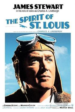 Spirit of St. Louis DVD Cover Art