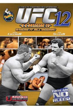 Ultimate Fighting Championship - UFC 12: Judgement Day DVD Cover Art