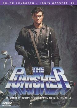 Punisher DVD Cover Art