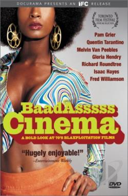 BaadAsssss Cinema: A Bold Look at '70s Blaxploitation Films DVD Cover Art