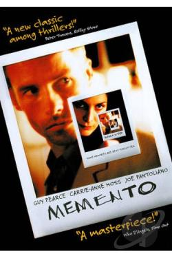 Memento DVD Cover Art