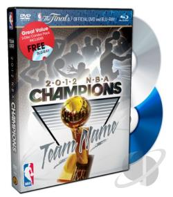 NBA: 2012 NBA Champions - Heat DVD Cover Art