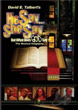 Soul Theater - He Say, She Say But What Does God Say? DVD Cover Art