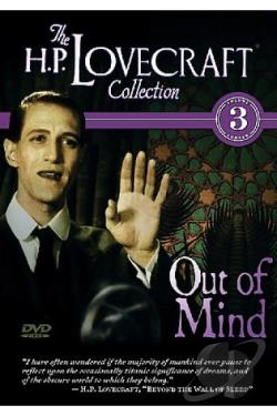 H.P. Lovecraft Collection Volume 3: Out Of Mind DVD Cover Art