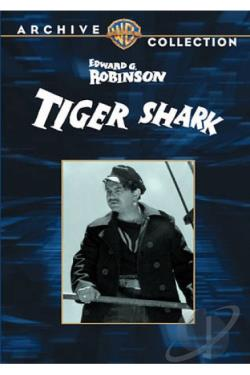 Tiger Shark DVD Cover Art