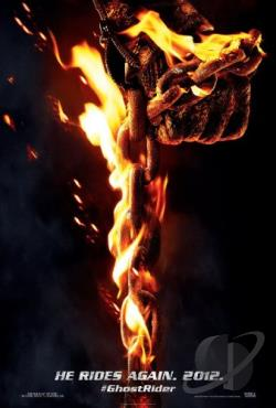Ghost Rider: Spirit of Vengeance DVD Cover Art