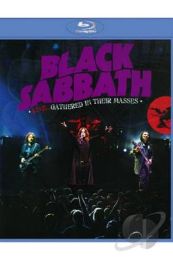 Black Sabbath: Live... Gathered in Their Masses BRAY Cover Art