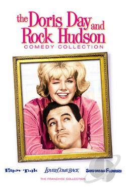 Doris Day and Rock Hudson Comedy Collection DVD Cover Art