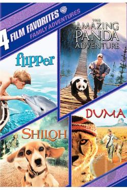 4 Film Favorites: Family Adventures DVD Cover Art