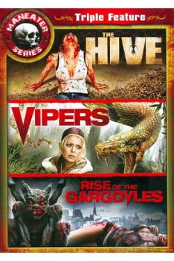 Maneater Series: The Hive/Vipers/Rise of the Gargoyles DVD Cover Art