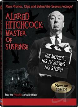 Alfred Hitchcock: Master of Suspense DVD Cover Art