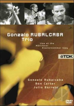 Gonzalo Rubalcaba Trio - Live At The Munchner Klaviersommer 1994 DVD Cover Art