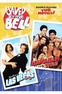 Saved by the Bell - Hawaiian Style/Wedding in Las Vegas DVD Cover Art