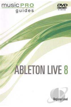 Ableton Live 8: Beginner Level DVD Cover Art