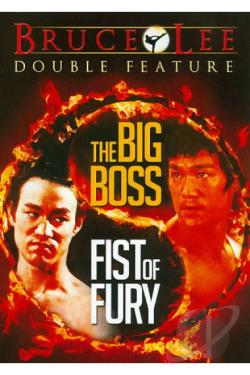 Big Boss/Fists of Fury DVD Cover Art