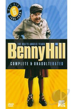 Benny Hill - Set 6 - Complete & Unadulterated - the Hill's Angels Years DVD Cover Art