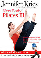 Jennifer Kries: New Body! Pilates III - Advanced Mat Workout DVD Cover Art