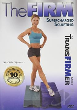 Firm - Supercharged Sculpting DVD Cover Art