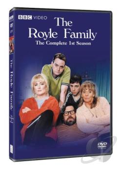 Royle Family - The Complete First Season DVD Cover Art