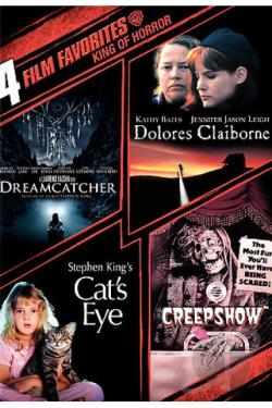 4 Film Favorites: Stephen King DVD Cover Art