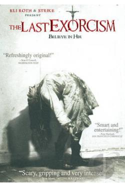Last Exorcism DVD Cover Art