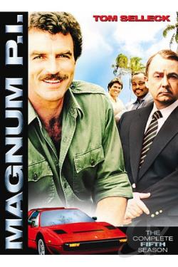 Magnum P.I. - The Complete Fifth Season DVD Cover Art
