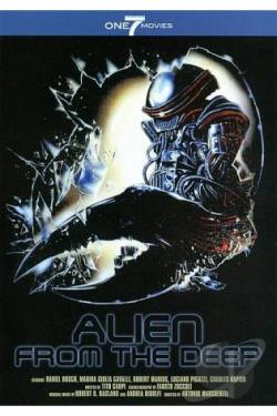 Alien from the Deep DVD Cover Art