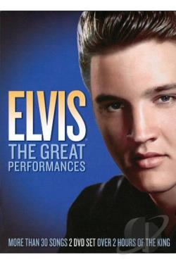 Elvis - The Great Performances Boxed Set DVD Cover Art
