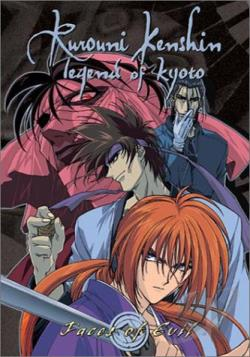 Rurouni Kenshin - Vol. 11: Faces of Evil DVD Cover Art