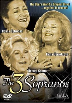 Three Sopranos, The - Together In Concert DVD Cover Art