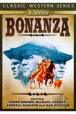 Bonanza DVD Cover Art