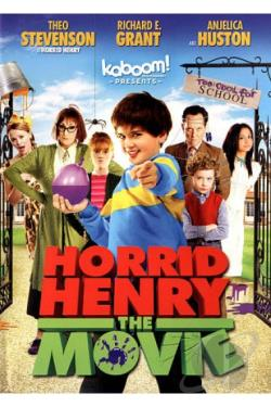 Horrid Henry: The Movie DVD Cover Art