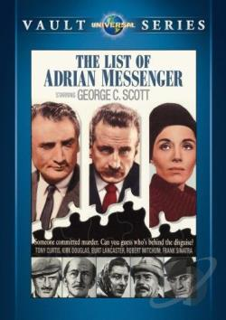 List of Adrian Messenger DVD Cover Art