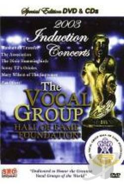 Vocal Group Hall of Fame Vol. 3 DVD Cover Art