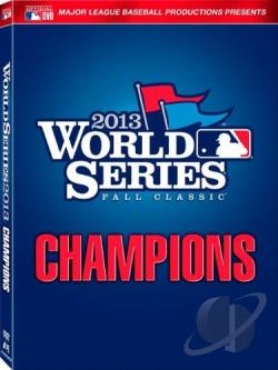 2013 MLB World Series - Boston Red Sox DVD Cover Art