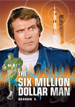 Six Million Dollar Man: Season 5 DVD Cover Art