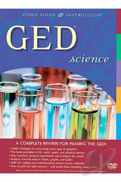 GED Science DVD Cover Art