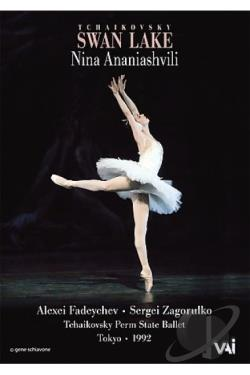 Tchaikovsky - Swan Lake Ballet DVD Cover Art