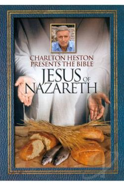 Charlton Heston Presents the Bible - Jesus of Nazareth DVD Cover Art