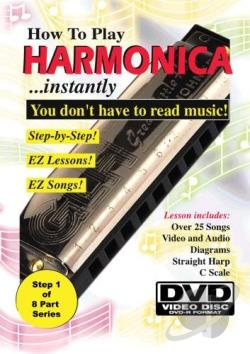 How to Play Harmonica Instantly! DVD Cover Art