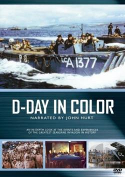 D-Day In Color DVD Cover Art