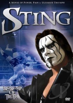 Sting - Moment Of Truth DVD Cover Art