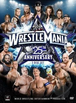 Wrestlemania XXV DVD Cover Art