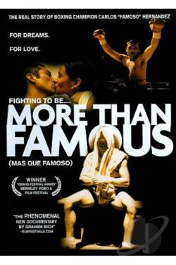 More Than Famous DVD Cover Art