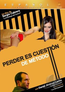Perder Es Cuestion De Metodo DVD Cover Art