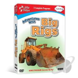 Little Steps: Adventures with Big Rigs DVD Cover Art